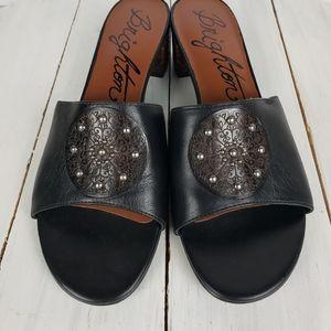 Brighton KARLA leather heel mules